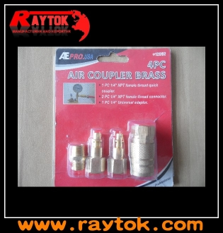 4PC air quick coupler kit