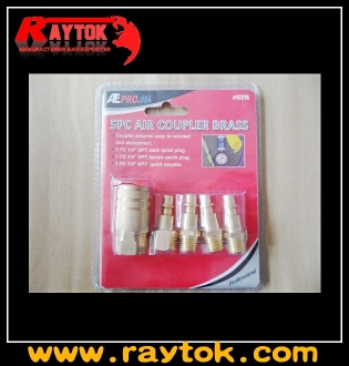 5PC American type quick coupler set