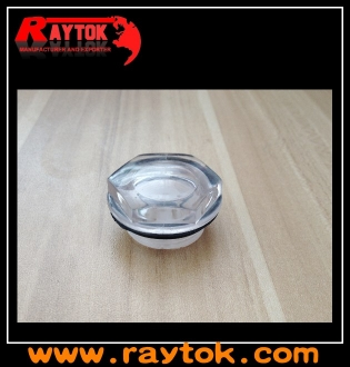 plastic oil level liquid sight glass