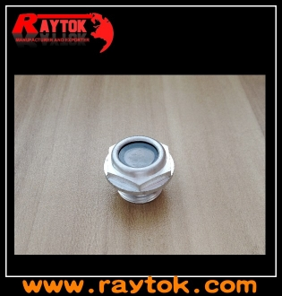 aluminum oil  level indicator with sight glass