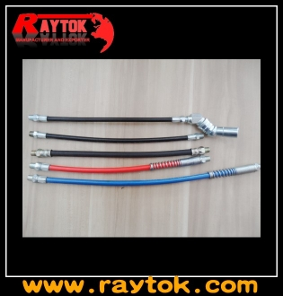 Flexible grease gun hose