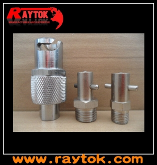 Pin type grease nipple adapter female thread
