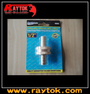 Garden hose brass fitting