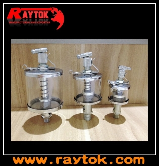 Valve type oil cup lubricator